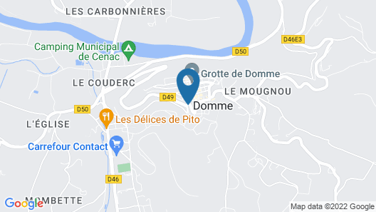 1 Logis a Domme Map