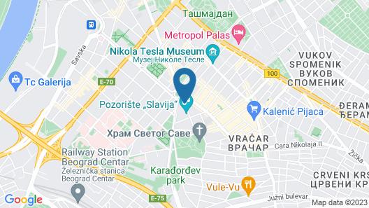 Saint Ten Hotel Map