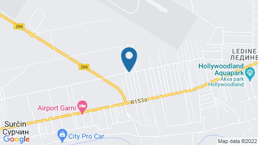 Airport View Apartments Map