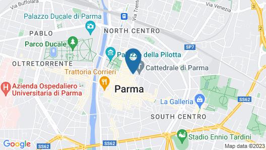 Palazzo Dalla Rosa Prati Map