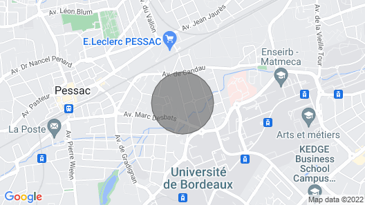Pretty Independent Maisonette in Pessac Map