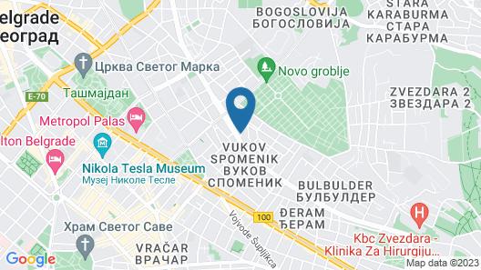 Lazar Lux Apartments Map
