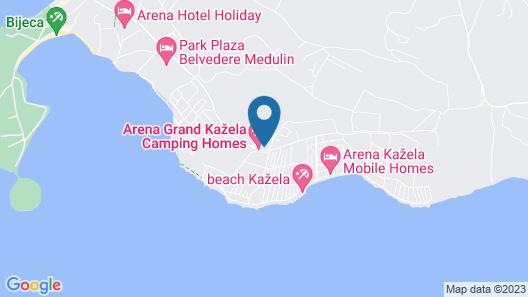 Arena Grand Kazela Camping Homes Map