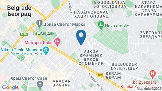 Holiday Inn Express Belgrade - City Map