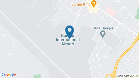 Four Points by Sheraton Bangor Airport Map