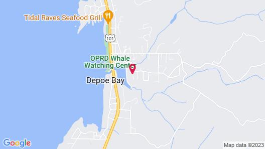 Depoe Bay Inn - Adults Only Map