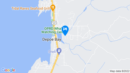 Depoe Bay Inn - Adults Only Map