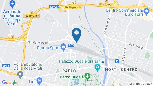 Best Western Plus Hotel Farnese Map