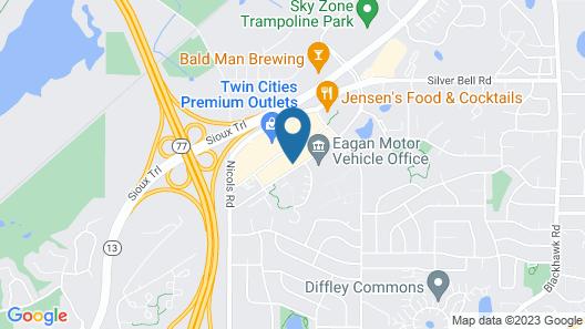 Home2 Suites Eagan Minneapolis Map