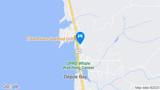 Travelodge by Wyndham Depoe Bay Map