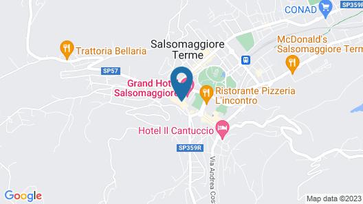 Casa Romagnosi Map