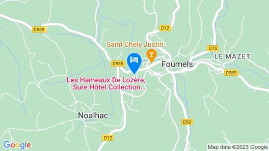 Les Hameaux De Lozere, Sure Hotel Collection by Best Western Map