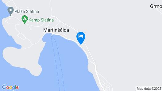 Villa St.Martin-Reef Map