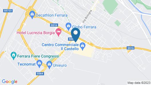 B&B Hotel Ferrara Map