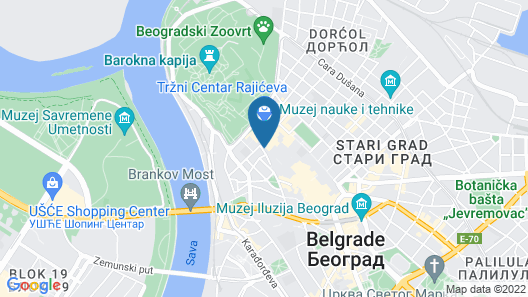 Hotel Capital Map