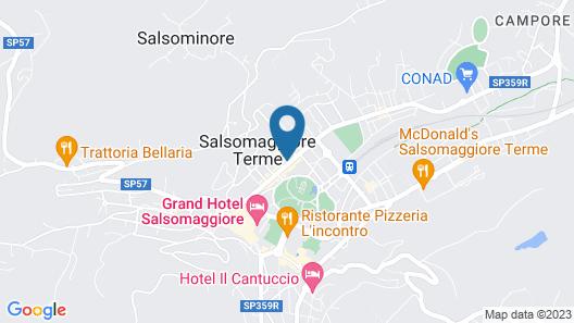 Hotel Centro Termale Il Baistrocchi Map