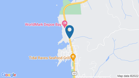 Whale Pointe at Depoe Bay Map