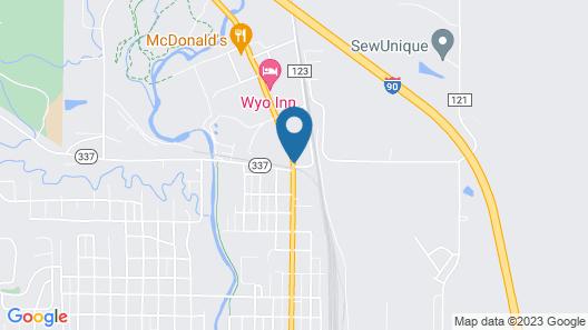 Super 8 by Wyndham Sheridan Map