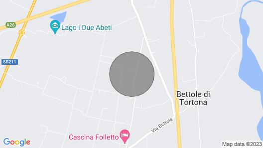 Vacation Home Casa Marina in Tortona - 14 Persons, 6 Bedrooms Map