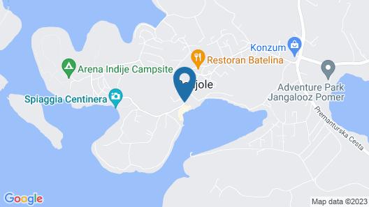 Resort del Mar Map