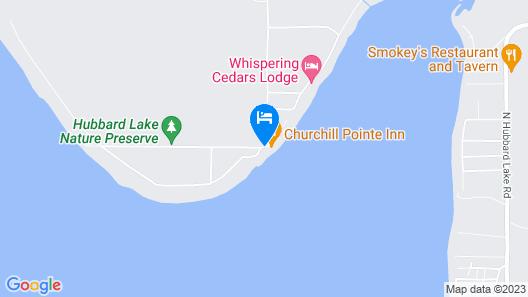 Churchill Pointe Inn Map