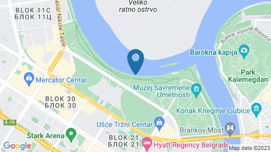 San Art Floating Hostel&Apartments Map