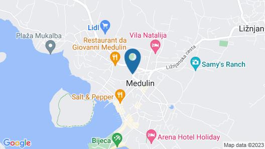 Apartment Emilia 424 Map