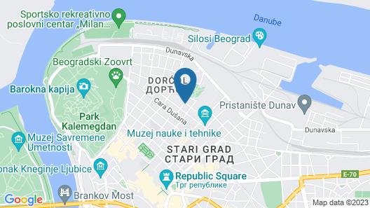 Good People Design Hostel Map