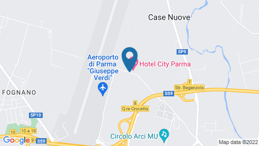 Hotel City Parma Map