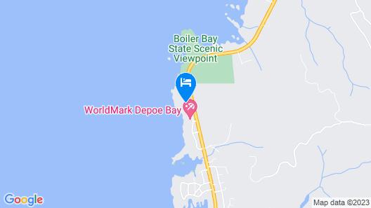 Whale Crossing 2 Bedroom Condo Map