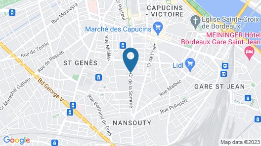 Appart'hôtel Victoria Garden Bordeaux Map