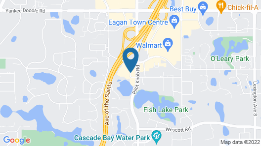 SpringHill Suites Minneapolis-St. Paul Airport/Eagan Map
