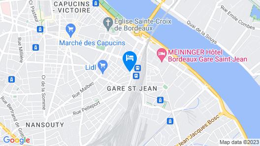 Mercure Bordeaux Gare Atlantic (Opening August 2021) Map