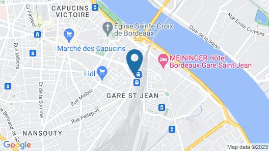 Hotel ibis Bordeaux Centre Gare Saint Jean Euratlantique Map