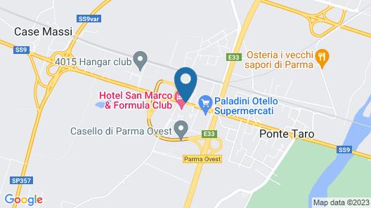 Hotel San Marco & Formula Club Map