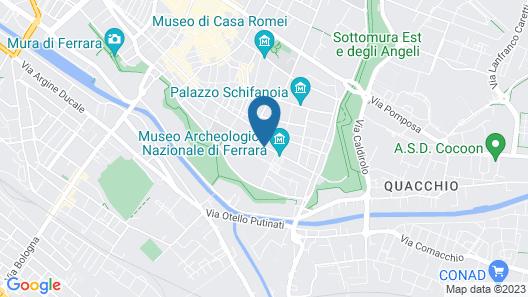 Dimora '800 Map