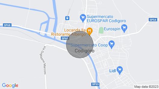 Appartamento con due Camere da Letto in Centro Paese, Wifi e AC- Germano Map