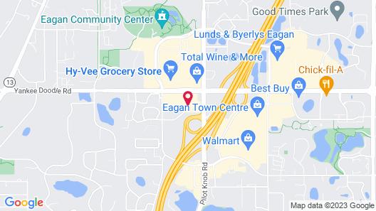 Holiday Inn Express & Suites Eagan - Minneapolis Area, an IHG Hotel Map