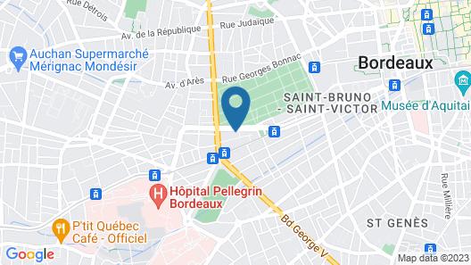 Appart'City Bordeaux Centre Map