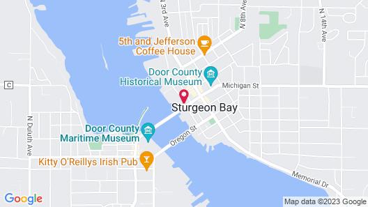 Holiday Music Motel Map