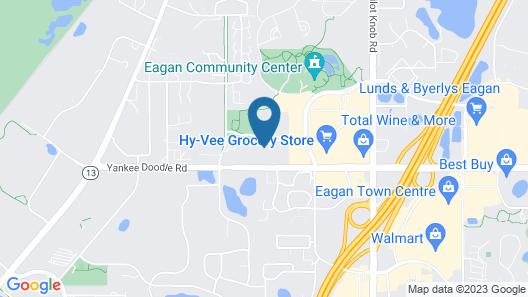 Residence Inn by Marriott Minneapolis St. Paul/Eagan Map