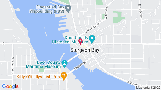 Diplomat Bed and Breakfast Map