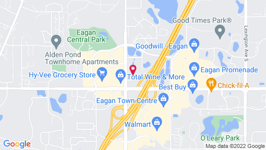 Extended Stay America Minneapolis - Airport - Eagan Map