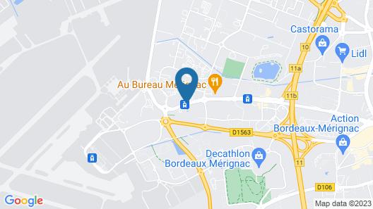 ibis Styles Bordeaux Aeroport Map