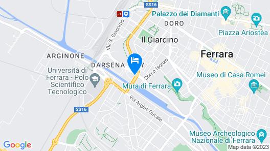 Hotel Orologio Map