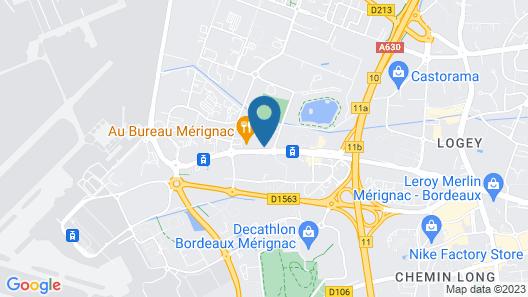 Quality Suites Bordeaux Aéroport & Spa Map