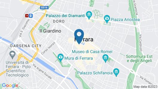 Hotel Annunziata Map