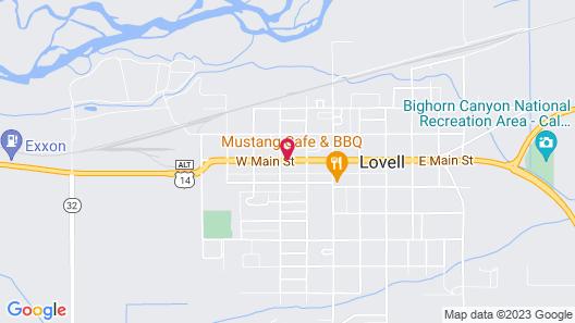 Western Motel Map
