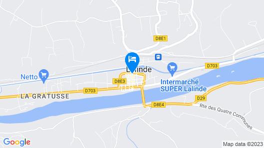 Hôtel Le Perigord Map