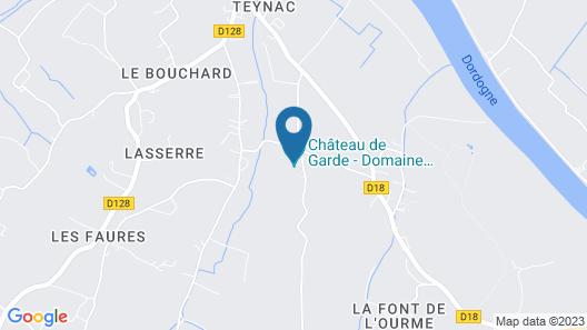 Château de Garde Map